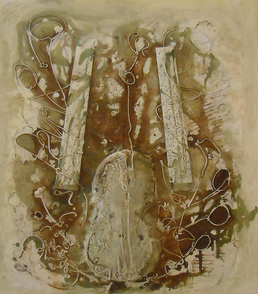 GREY VIOLIN by Baczay Norbert