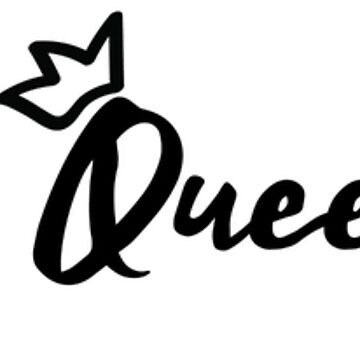 Just be a Queen, Honey! Quote Crown Slogan by TotalTeeGeek