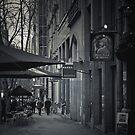 Collins Street, Melbounre  by Christine Wilson