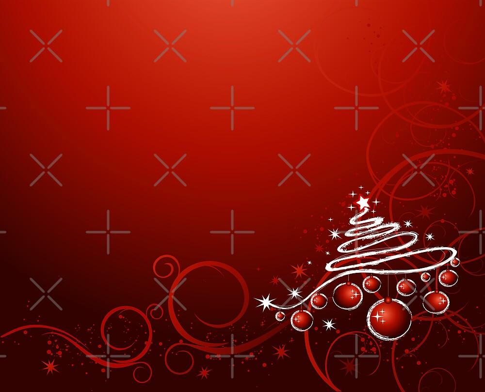 Christmas card by Olga Altunina