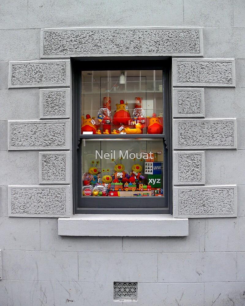WINDOW SHOPING by Neil Mouat