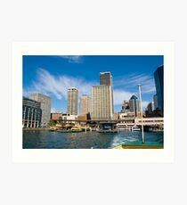 Circular Quay 2, Sydney Art Print