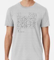 Elements of Racing - Black Men's Premium T-Shirt