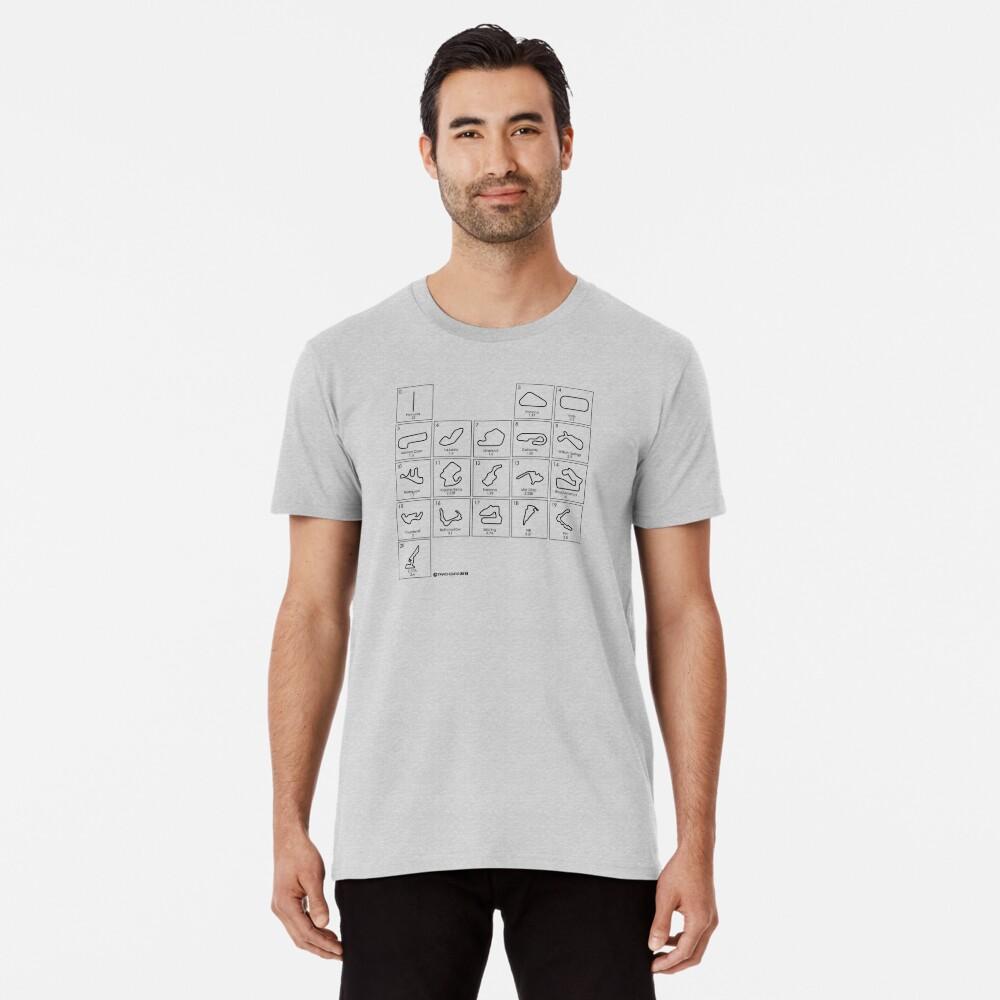 Elements of Racing - Black Premium T-Shirt