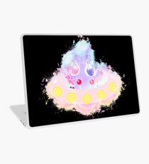 Ufo saucer glowing Art Laptop Skin