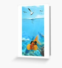 Hold your breath! Greeting Card