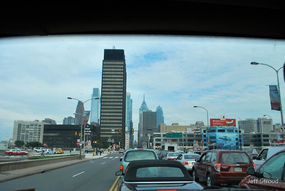 West Market St looking East  by Jeff stroud