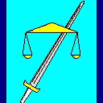 Terry Davis TempleOS Logo by ILovePearl