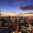 November Sunset by Ray Warren