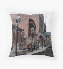 Distillery District Throw Pillow