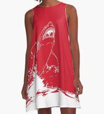 Landshark Jumping | Rebel Red A-Line Dress