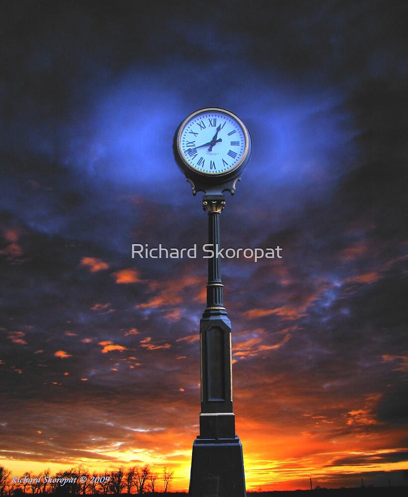 12:42 Clockscape Sunset by Richard Skoropat