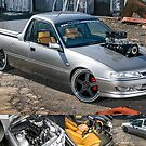 Clint Stevens' Blown Holden Commodore Ute by HoskingInd