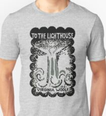 To The Lighthouse Virginia Woolf Cover Unisex T-Shirt