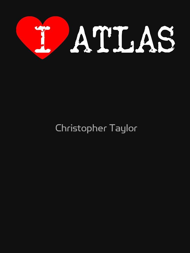 I Heart Atlas Love Atlas Classic T Shirt By Ctaylorscs Redbubble