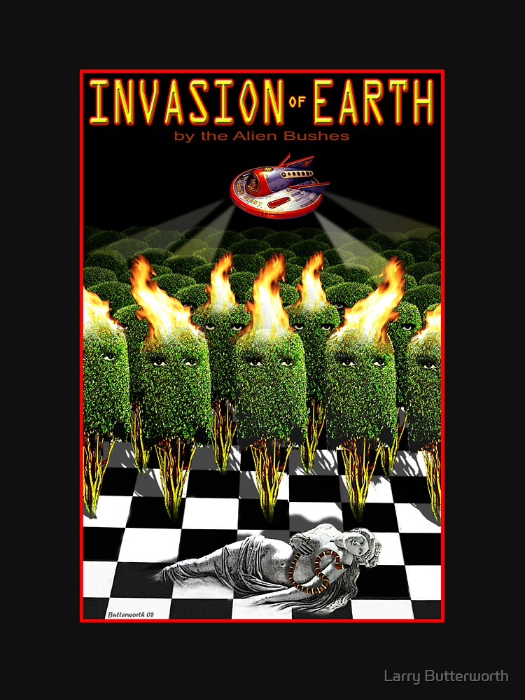 INVASION OF EARTH by theoatman