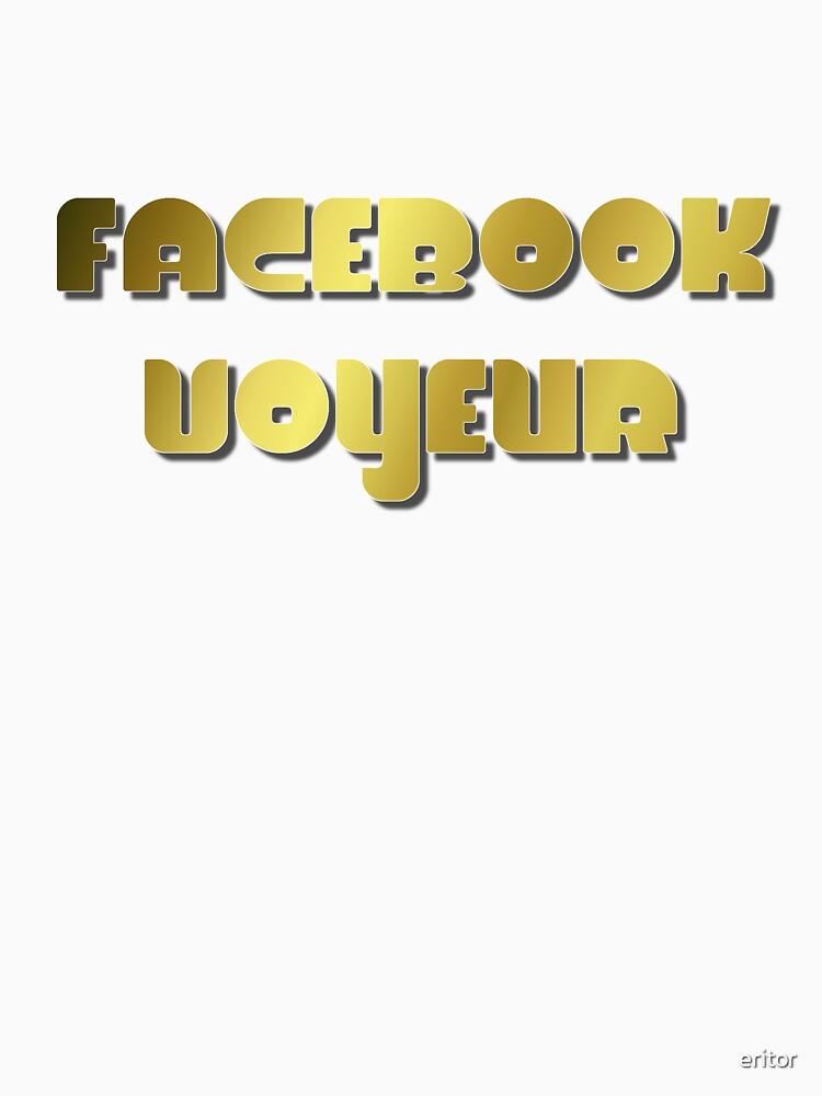 Facebook Voyeur by eritor