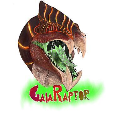 GaiaRaptor by NeilFinnArt