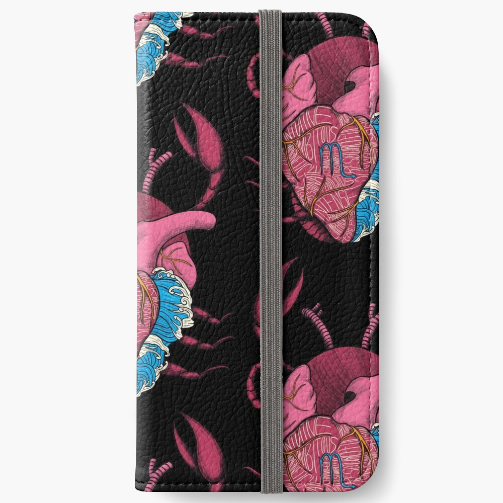 Scorpio Heart iPhone Wallet