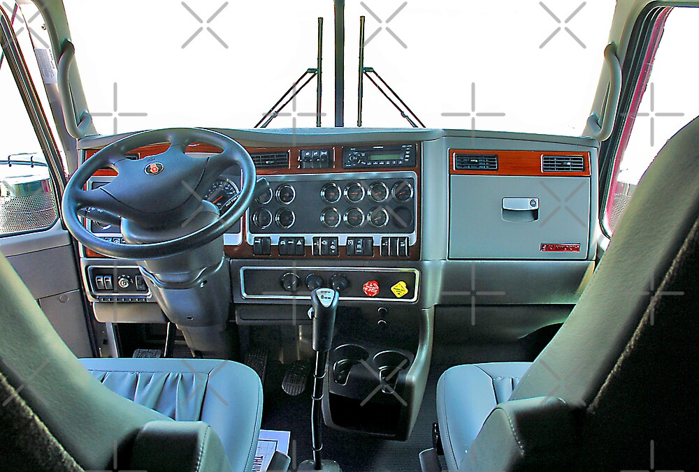 Kenworth - Inside View by Stevie Mancini
