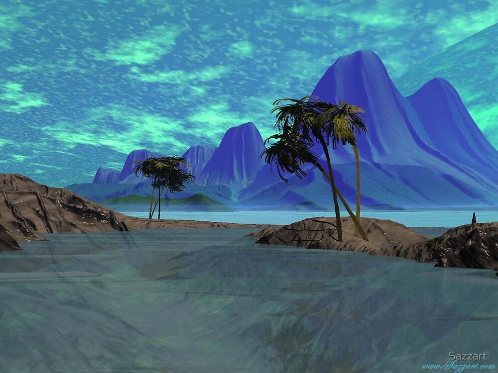 Soffy's  Lagoon 2 by Sazzart