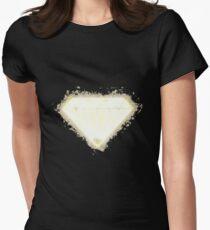 Diamond precious glowing Art Women's Fitted T-Shirt
