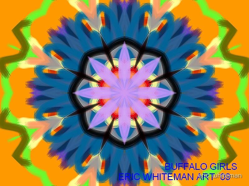 ( BUFFALO GIRLS )  ERIC WHITEMAN  ART  by eric  whiteman