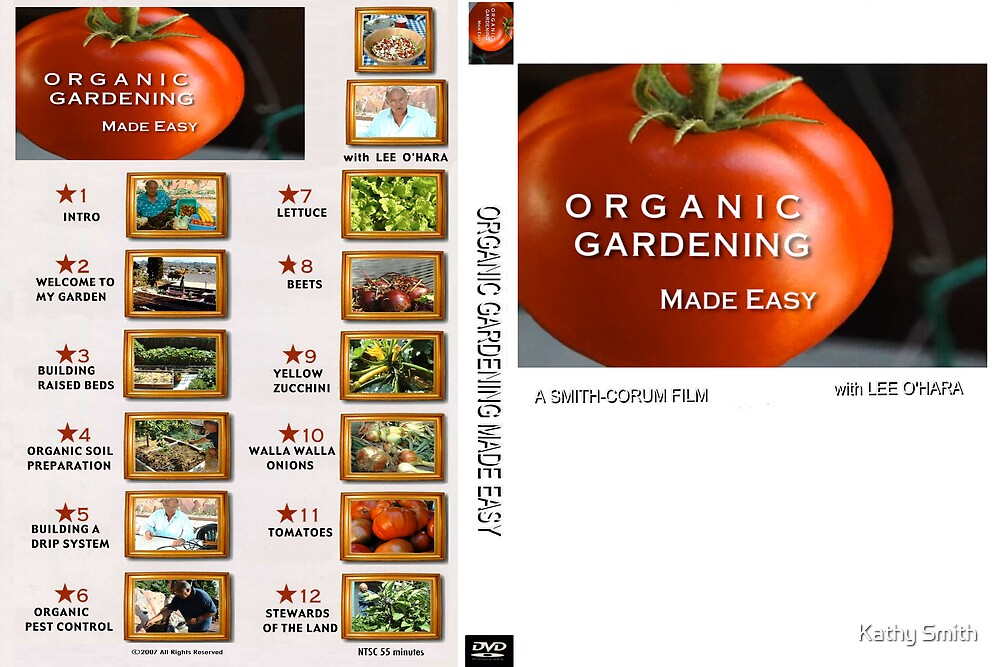 ORGANIC GARDENING MADE EASY by Kathy Smith