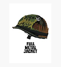 Full metal jacket - Stanley Kubrick Photographic Print