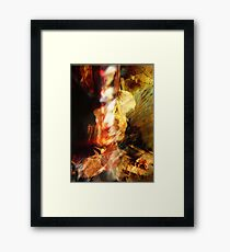 abstract fetish one Framed Print