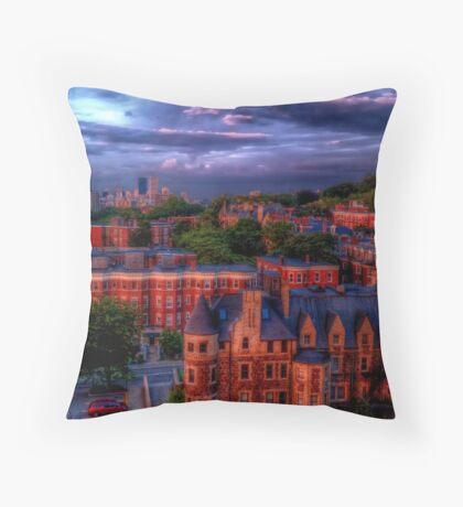 Brookline, MA Throw Pillow