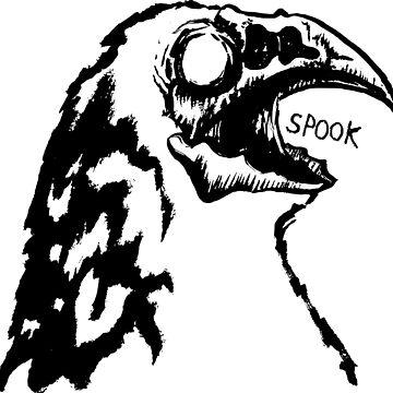 Zombie Crow by Gaius