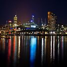 Harbour Lights by Ray Warren