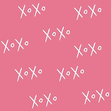 Cute XOXO Pattern by Greenbaby