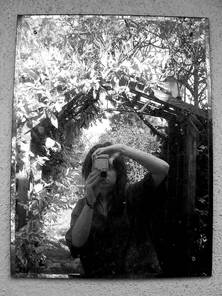 Mirror B&W by Rosanna Jeffery