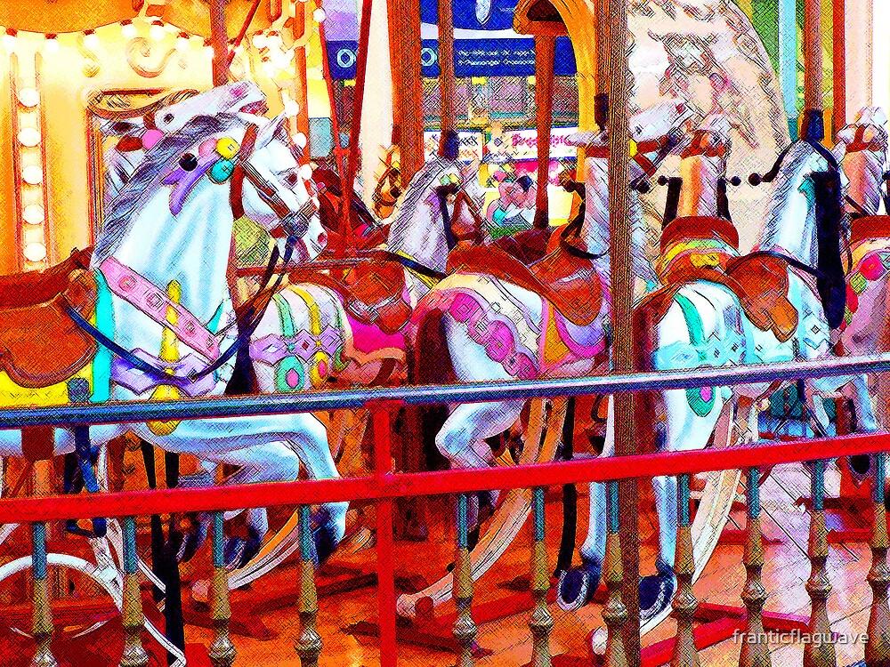 """""""Carousel"""" by franticflagwave"""