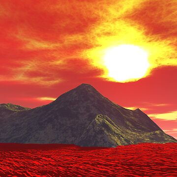 Flame Land by PaprikaFaa
