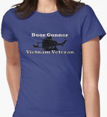Door Gunner - Vietnam Veteran Womens Fitted T-Shirt