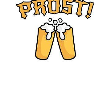 Cheers Beer Oktoberfest Prost by hadicazvysavaca