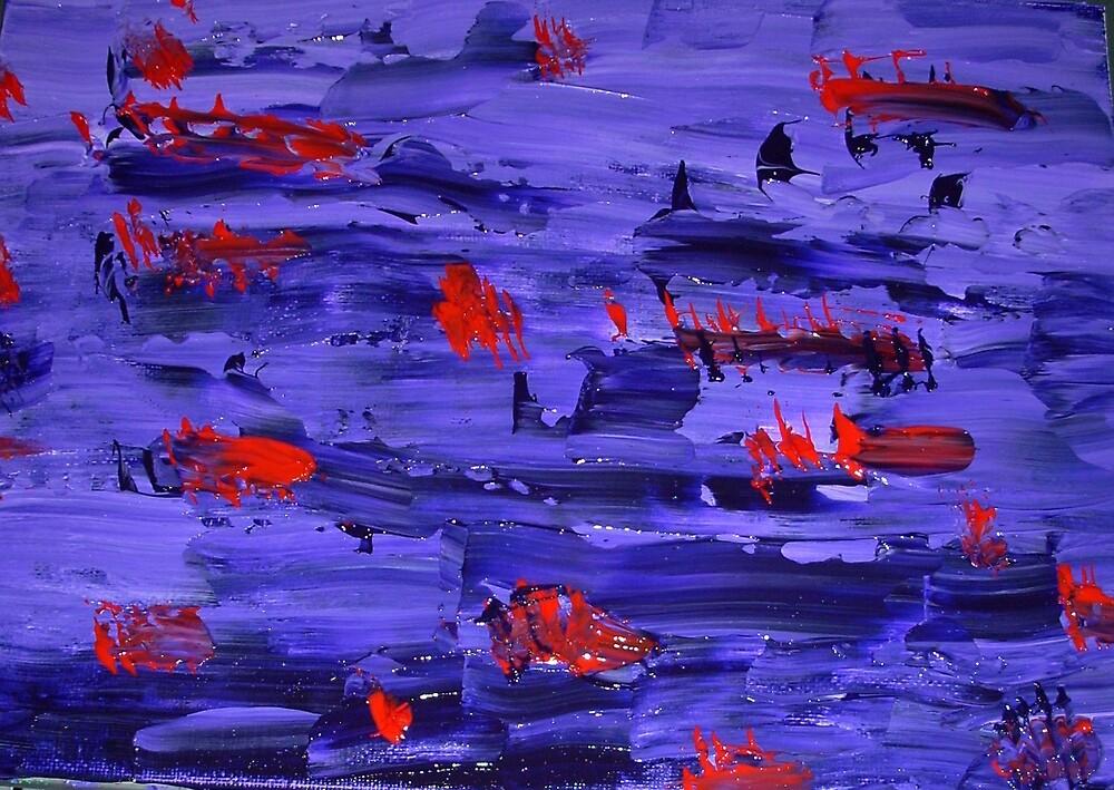 Purple Red by Mistyarts