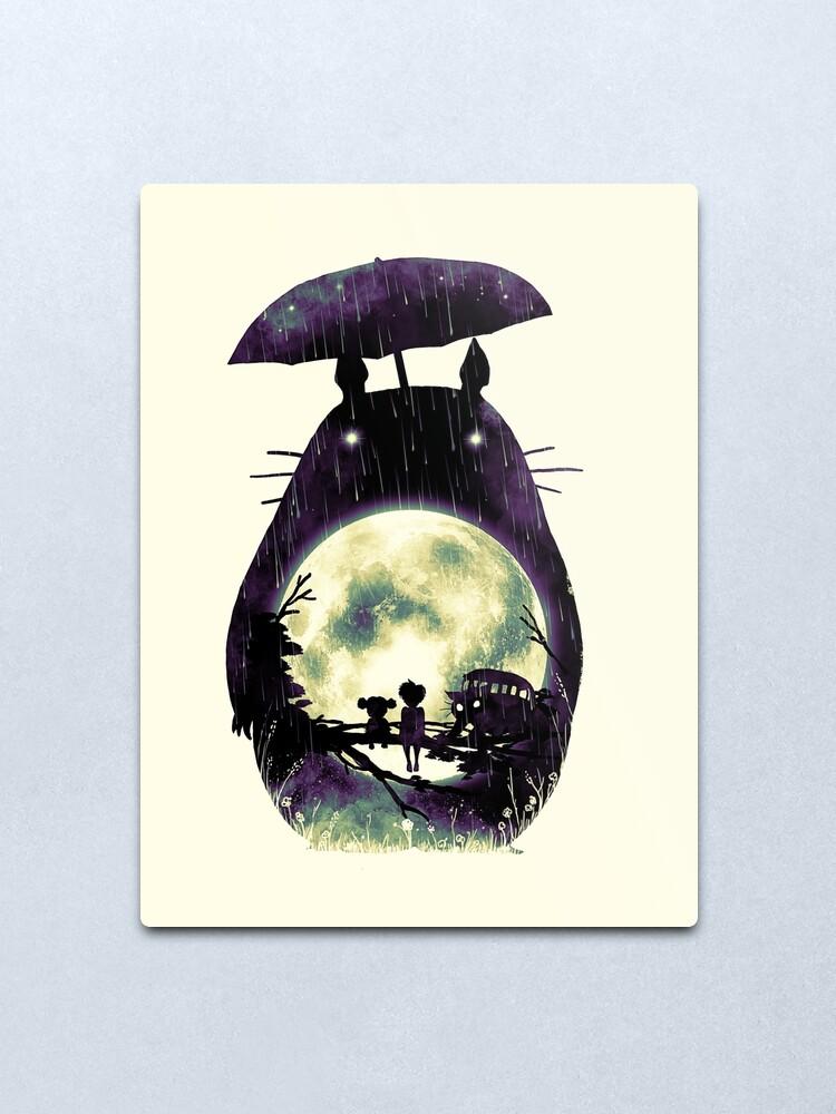 Alternate view of Totoro Metal Print