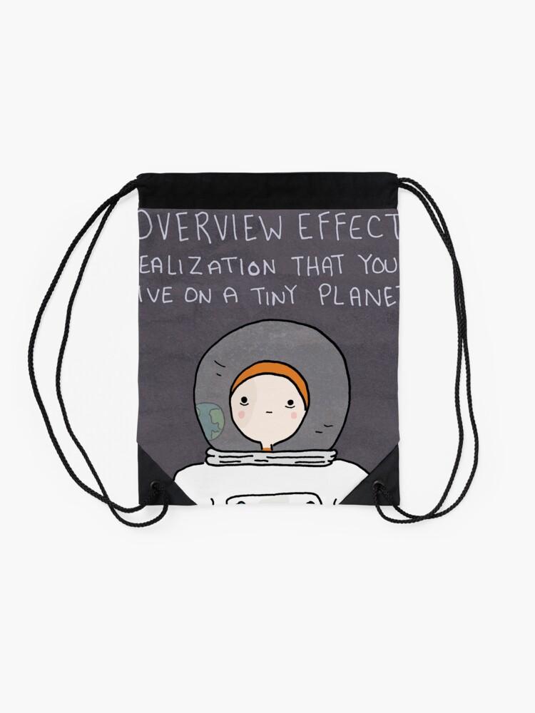 Alternative Ansicht von Der Astronaut Turnbeutel