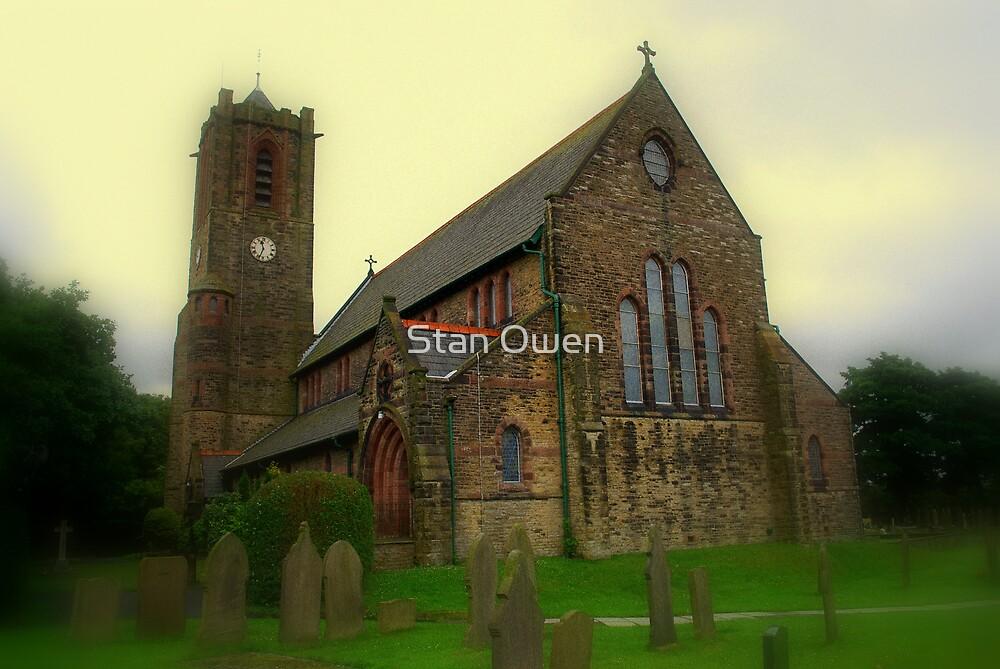 All Saints Church, Rainford, Merseyside. by Stan Owen