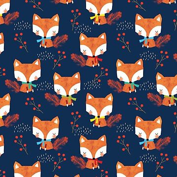 Cute Wimter Foxes, Fox Lover by EarthlyIndigo