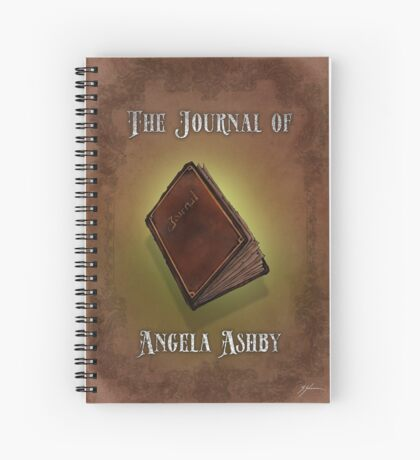 The Journal of Angela Ashby - The Journal T-shirt Spiral Notebook
