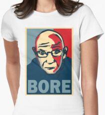Paul-Michel Foucault is Boring  Women's Fitted T-Shirt
