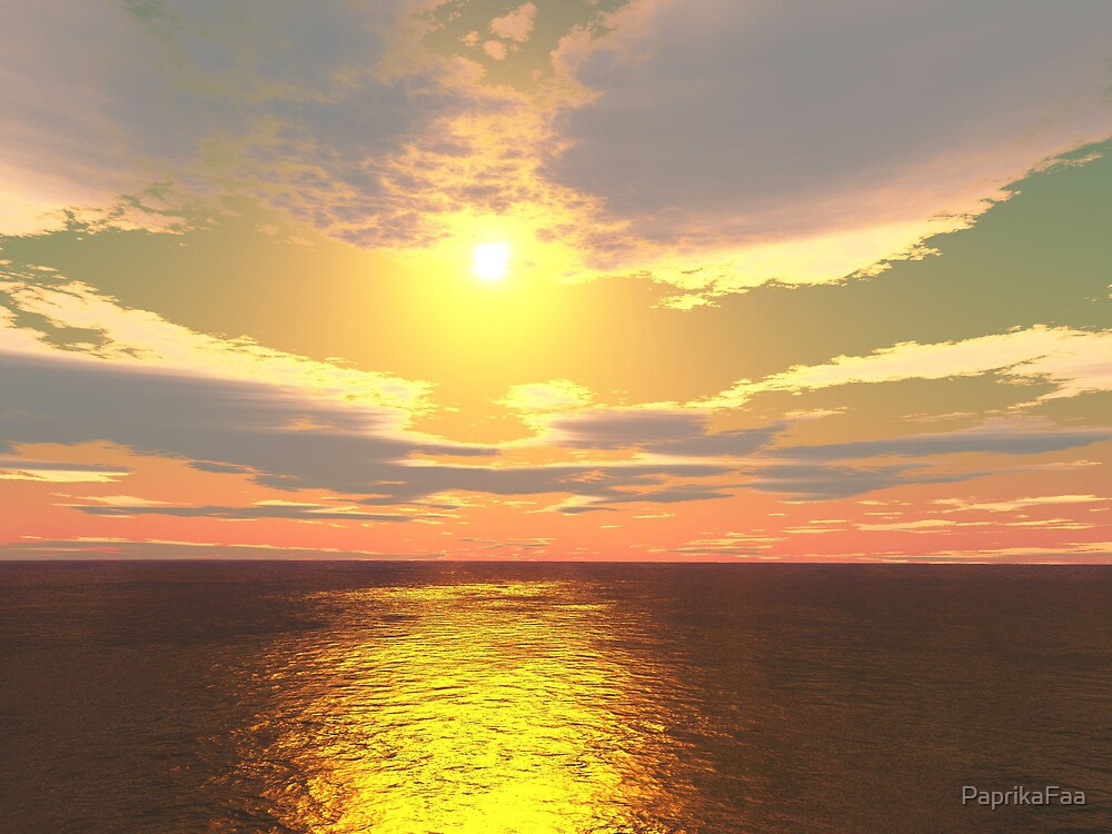 Phoenix Sunrise by PaprikaFaa