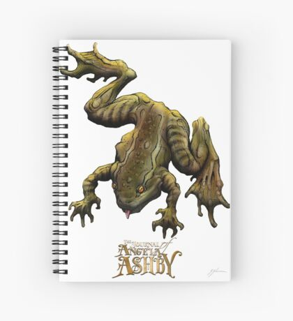 The Journal of Angela Ashby - Frog T-shirt 2 Spiral Notebook