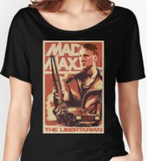Maxime Bernier MadMax Parody Memes 2019 PPC #BernierNation Canada Elections 2019 MCGA Make Canada Great Again white background Women's Relaxed Fit T-Shirt