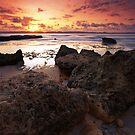 Dark Sunset, Lombok Indonesia by Fadil Basymeleh